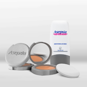 asepxia maquillaje